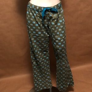 Xhilaration medium elephant printed sleeping pants
